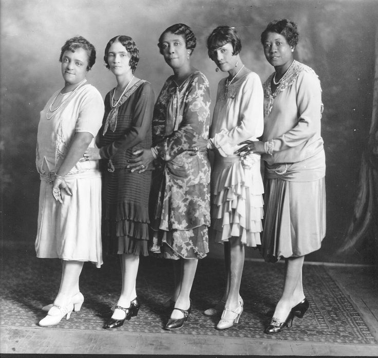 North Carolina Mutual Life Insurance Company (NCMLIC): The North Carolina Mutual Quintet, 1920s.