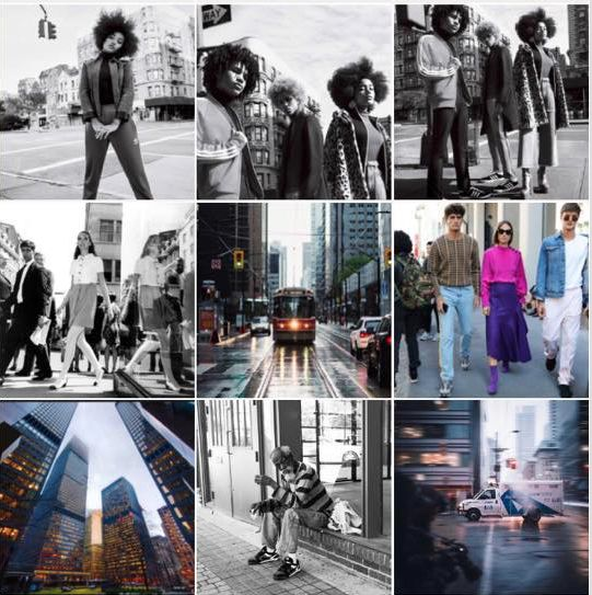 How the images and story will appear on Instagram