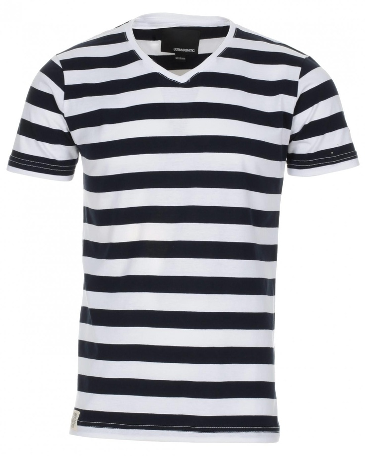 Hrrrnnnnn, striped v-necks. So good.