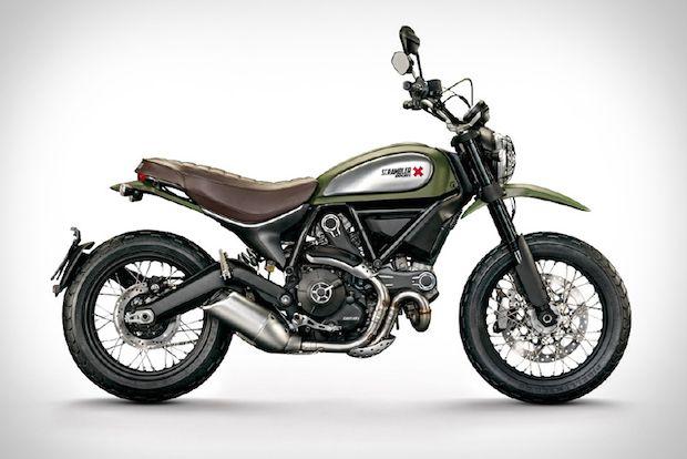 On Or Off Road Fun! 2015 Ducati Scrambler Urban Enduro Motorcycle | First Look