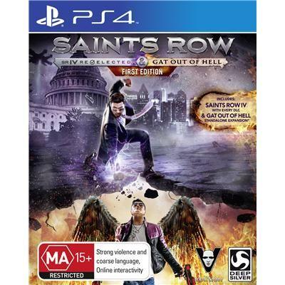 JB Hi-Fi | Saints Row IV: Re-Elected PlayStation 4