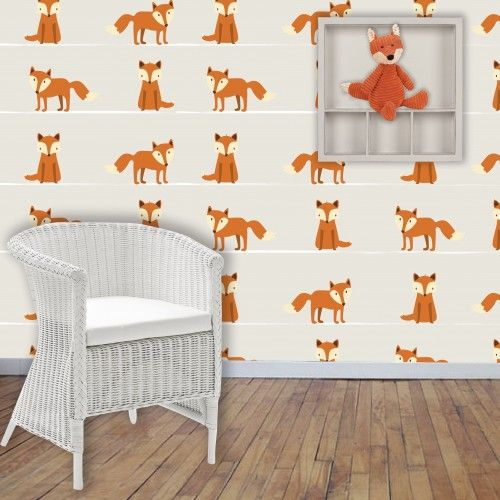 Here Comes the Fox Wallpaper by BC Magic Wallpaper.