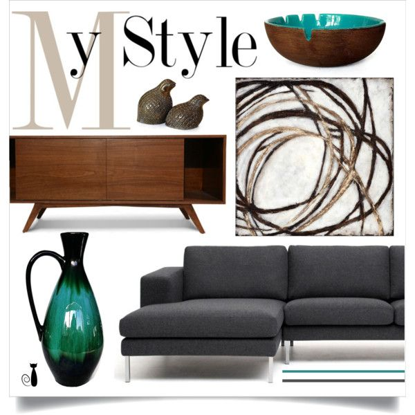 My Style by nonamecatvintage on Polyvore featuring interior, interiors, interior design, home, home decor, interior decorating and Thrive