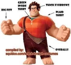 Wreck It Ralph Costume Idea