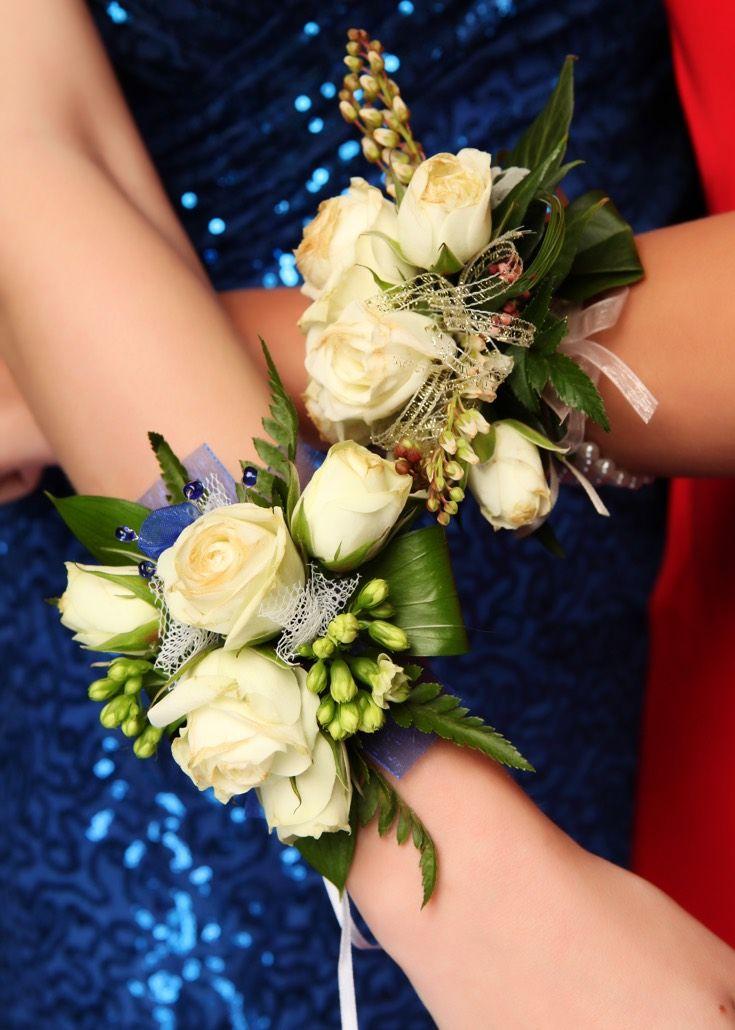 Whangaparaoa Ball 2015. Gorgeous cream roses! www.whitedoor.co.nz