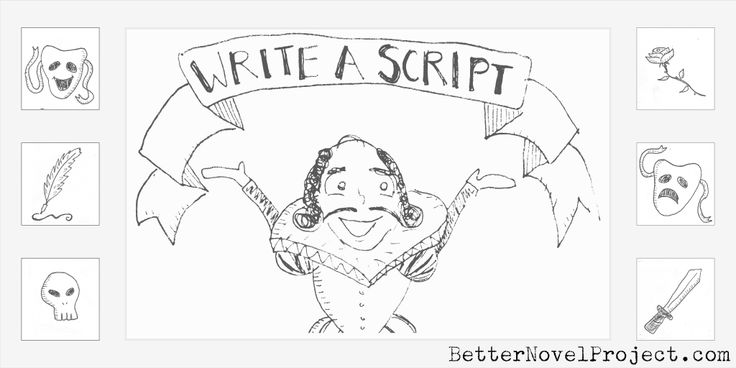 how to write a play script for students