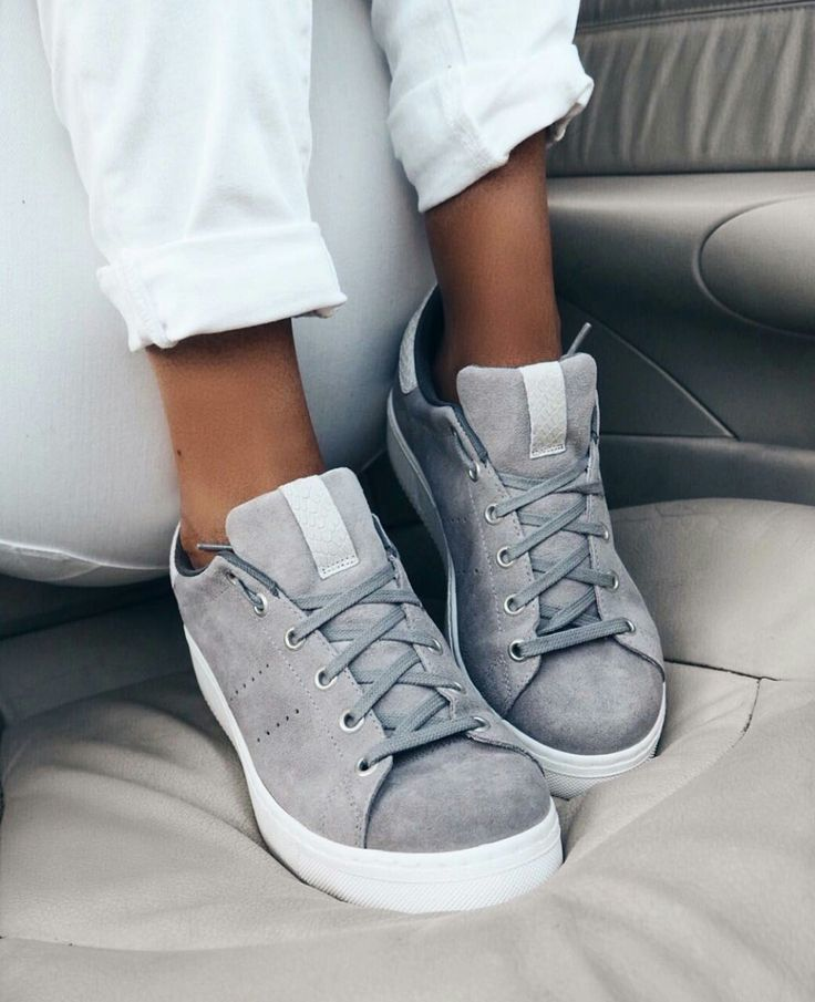 White & Grey adidas Superstar Shoes/Sneakers with Laces