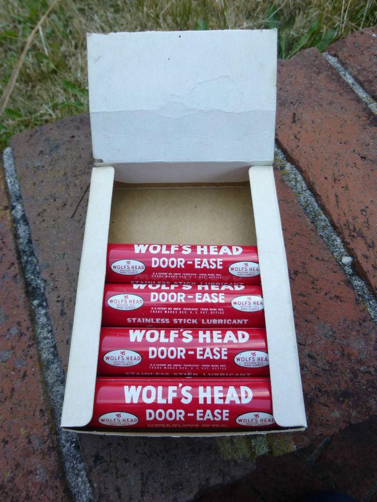 Vintage Wolf\u0027s Head Door Ease w/ Advertising Display & 110 best Vintage Advertising images on Pinterest | Advertising ... Pezcame.Com