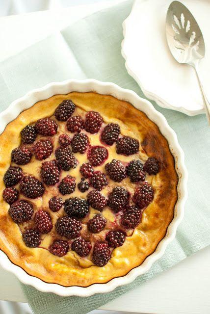 Blackberry Pancake Tart | 39 Sweet Ways To Eat Berries For Breakfast