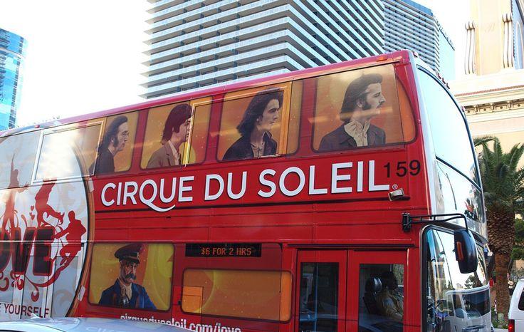 Cirque du Soleil en Las Vegas