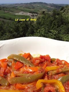 Peperonata piemontese (povronà)