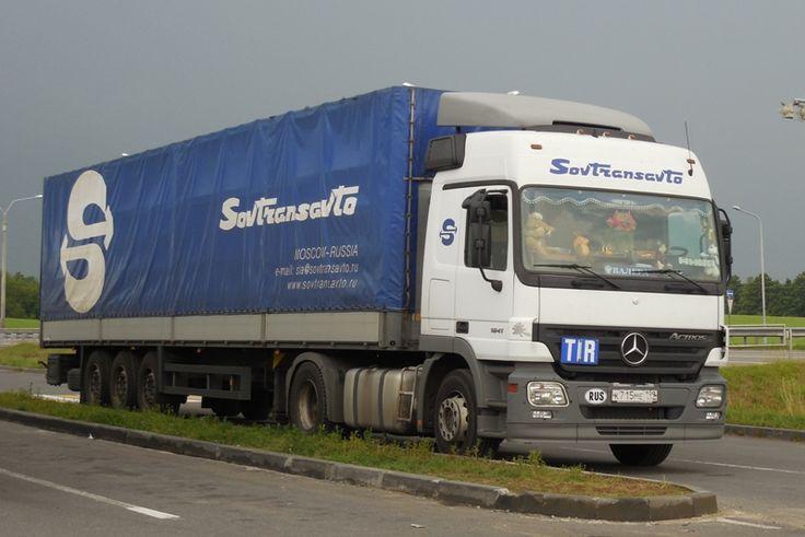 Sovtransavto Mercedes Actros