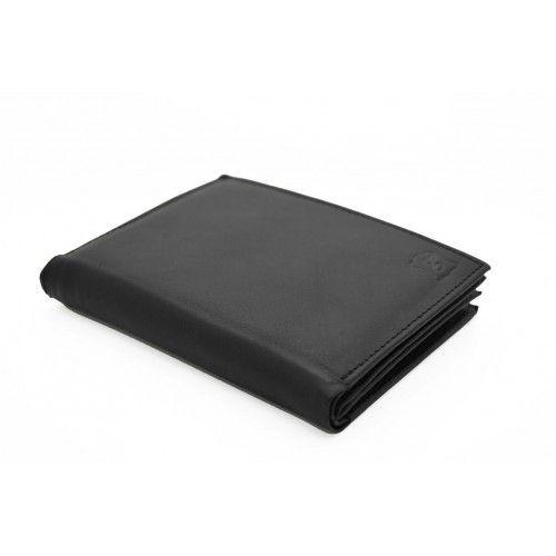 Lederen portefeuille - Zwart
