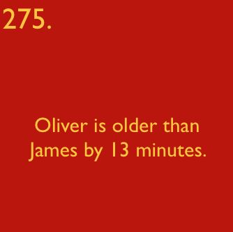 Harry Potter Facts - harry-potter Photo tbh: When I first read this, I wasn't think of the twins, but of Oliver Wood and James Potter...