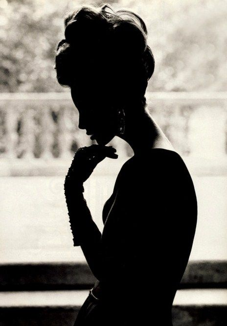glamour in the darkItalian Vogue, Steven Meisel, Christy Turlington, Christyturlington, Beautiful, Silhouettes, Stevenmeisel, Black, Photography