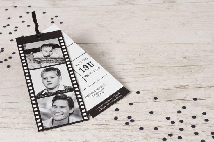 Fotofilm labels in zwart en wit! | Tadaaz
