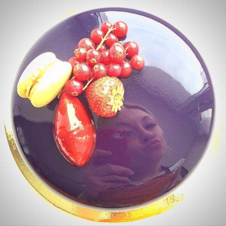 Olga, torta a specchio