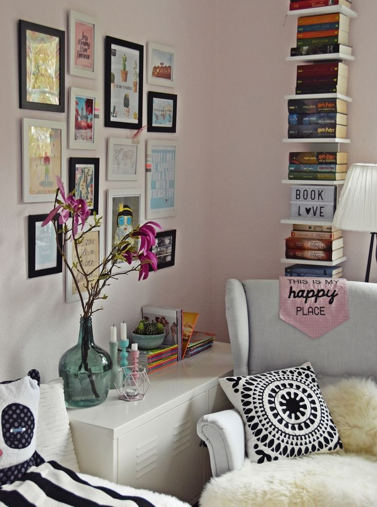 teenage girl rooms. 27 insanely inexpensive ideas for your walls ... - Mdchenzimmer