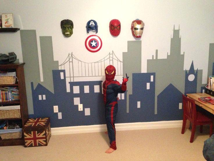 Superhero Room Decor Marvel Superheroes Bedroom Decor Coma Studio