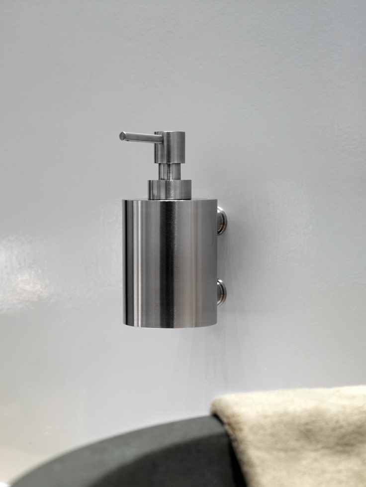 Bathware - Piet Boon by FORMANI - PB502 Soap dispenser for wall mounting stainless steel