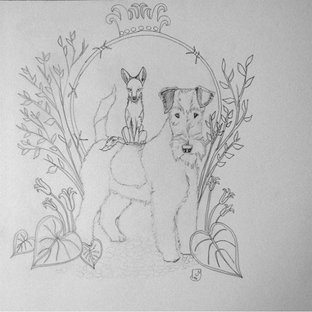 drawing by Mari Juuti
