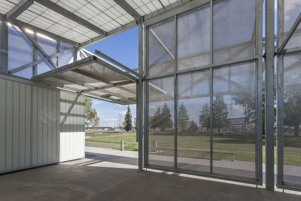 John Fry Sports Park Pavilion | the marc boutin architectural collaborative | Archinect
