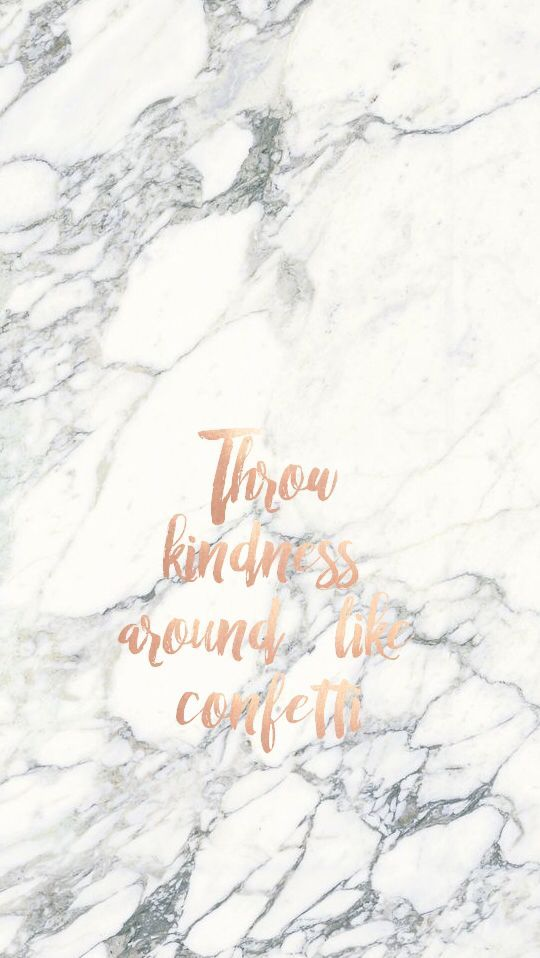 Gorgeous Marble background with Rose Gold/ copper words. Love.