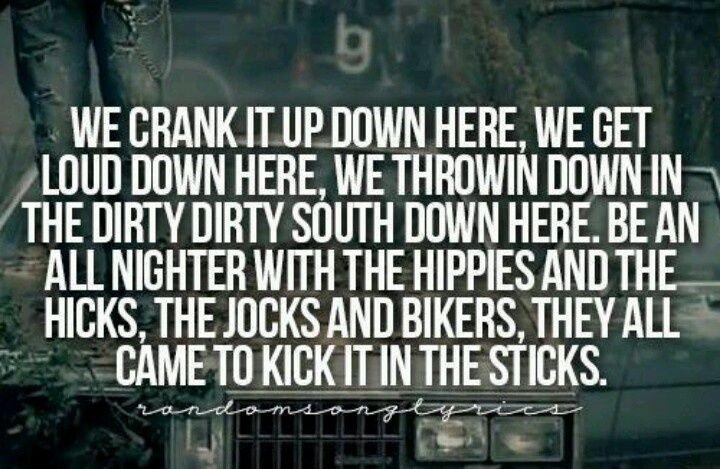 Kick It In The Sticks ...