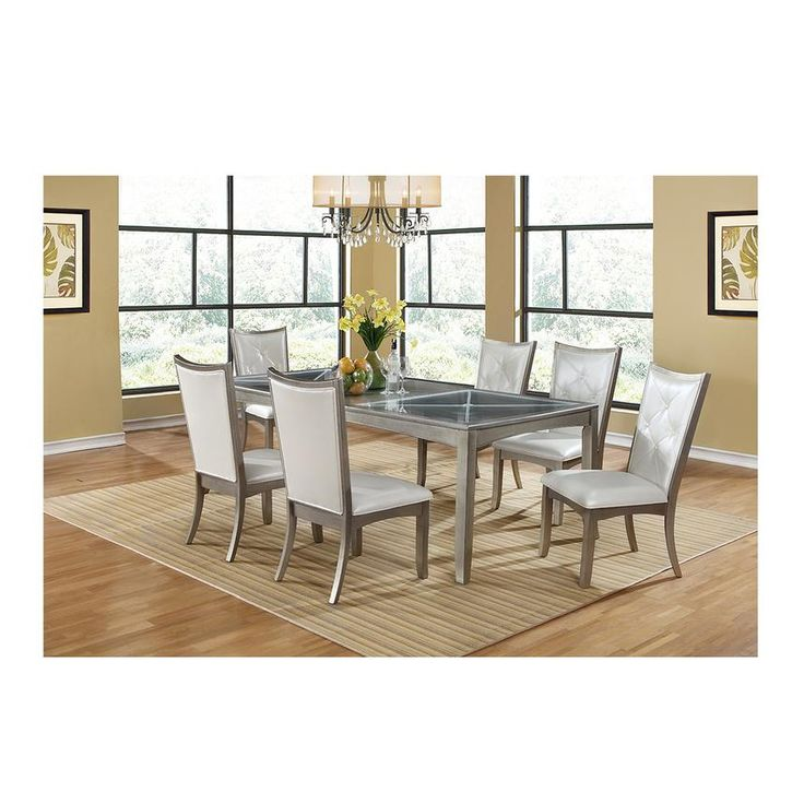 Find Glass And Wood Top Dining Tables In Traditional Modern Contemporary Styles At El Dorado Furniture