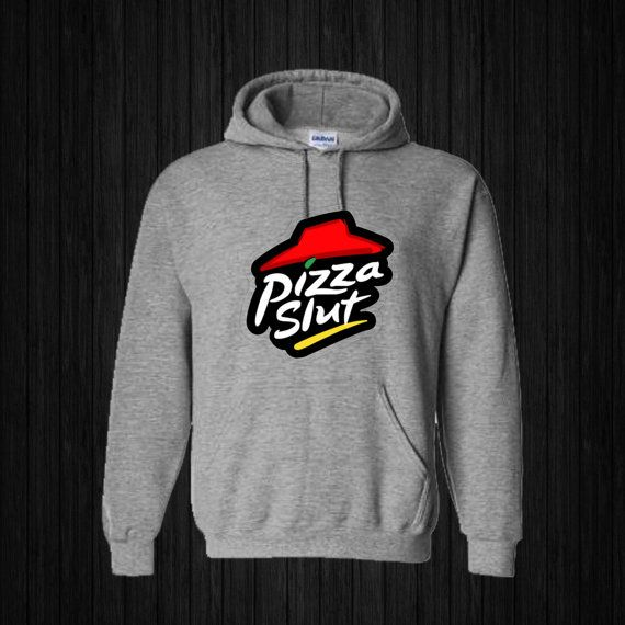 Pizza Slut Hoodies Hoodie Sweatshirt Sweater Shirt by sijilbab13
