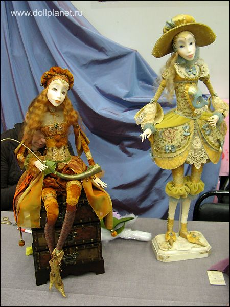 Аннадан. Авторские куклы