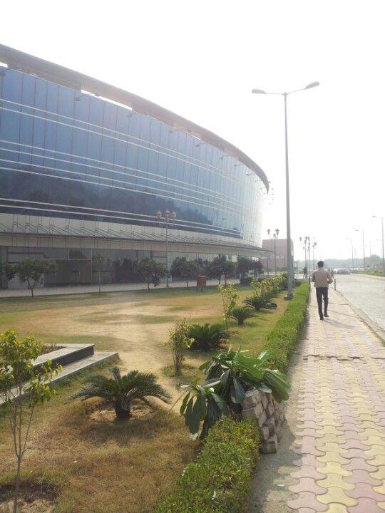 Dwarka Sector 21 Metro Station in New Delhi, Delhi