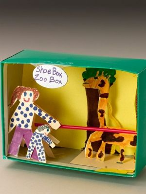 53 best shoe box & diorama images on Pinterest | School projects ...