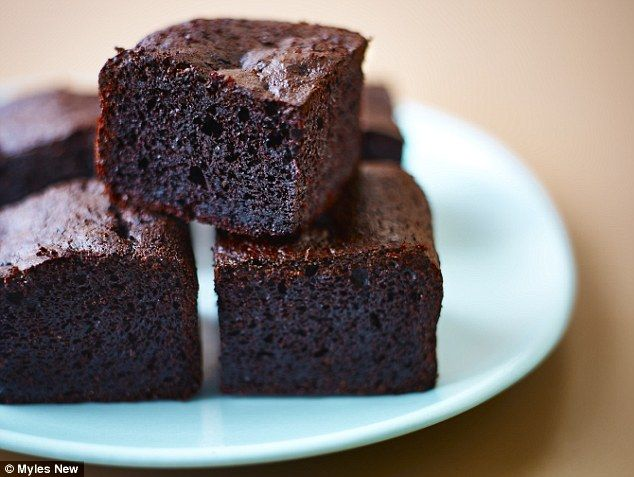 Blooming brownies By Lorraine Pascale  (165 cals per serving)