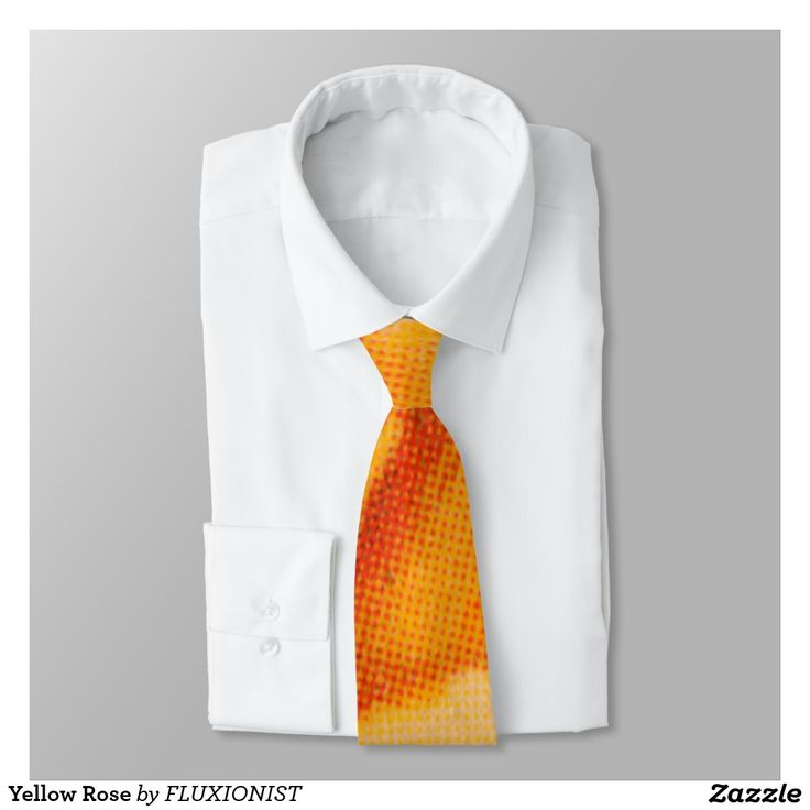 does look like something to me Yellow Rose Tie - $35.00 Made by Zazzle Apparel / Design: Fluxionist