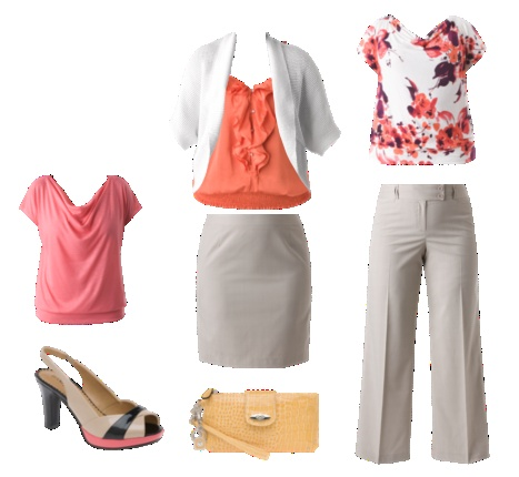member creations | Lane Bryant: Shoes, Work Clothing, Colors Combos, Lane Bryant Outfits, Coral Colors, Size Fashion, Work Outfits, Paintings Desert, Work Ideas