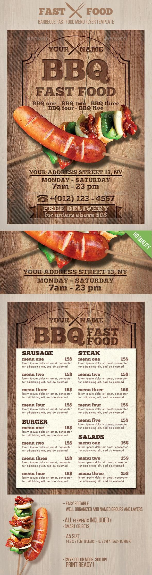 Best Bbq Images On   Event Flyers Bbq Party And