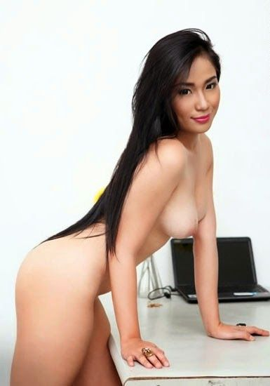 topless philipines model girl