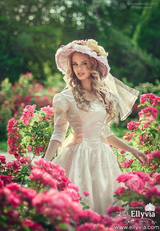 Свадебный наряд в рустик стиле.