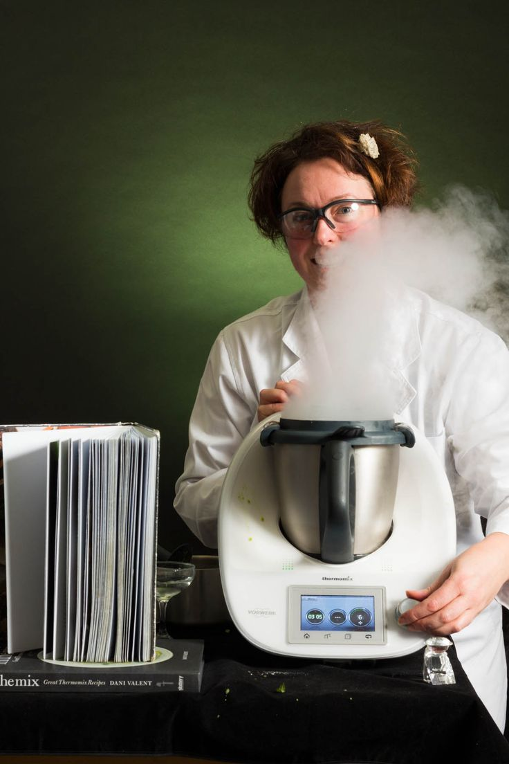 A Bit of Mad Scientist Thermomixing with Dry Ice!! – Arwen's Thermo Pics