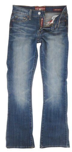 BESTSELLER! Lucky Brand Women`s Sofia Curvy Boot Jeans, Medium Wash $69.99- have these- love them.