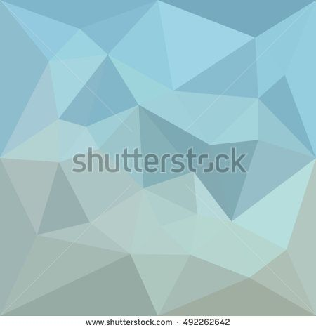 Low polygon style illustration of a cadet blue orange abstract geometric background. #abstractbackground #lowpolygon #illlustration