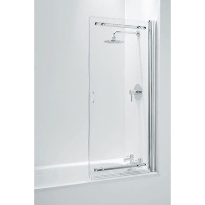 Coram Showers Frameless Sliding Bath Shower Screen