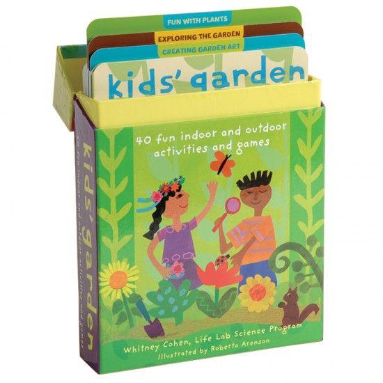 This wonderful gardening treasure is kid 39 s garden 40 for Indoor gardening lesson