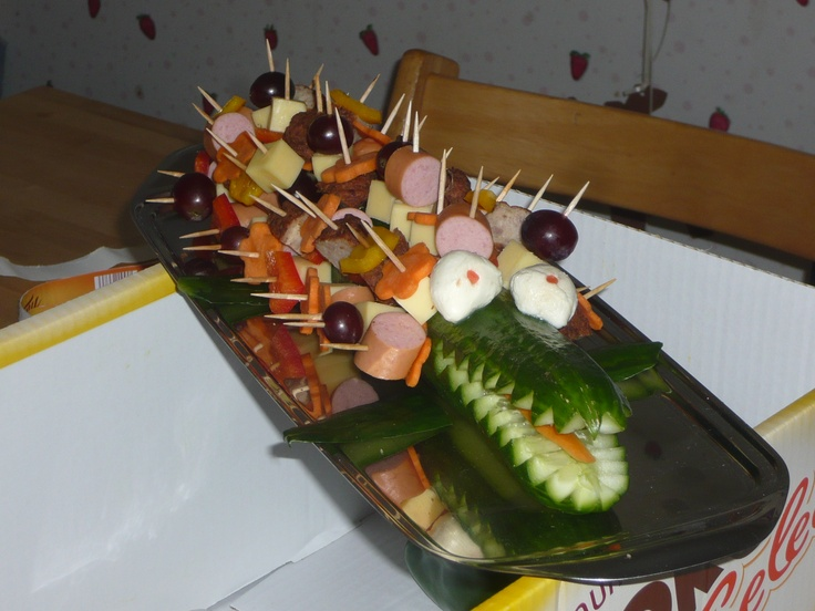 Cucumber - Crocodile for a Kids - Party