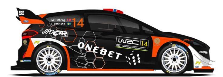 WRC | M-SPORT | #14 | Mads Østberg - Emil Axelsson ( 12 )