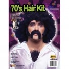 70's Hair Kit with Moustache, Sideburns and Chest Hair $9.99 @Nobbies Ultimate Party Superstore Ultimate Party Superstore    This is the WHOLE kit and kaboodle...if you want to be the ultimate furball...look no further...the stache and the chest hair say it all, but combined with that wig, well, that's making a statement! #1970smoustache