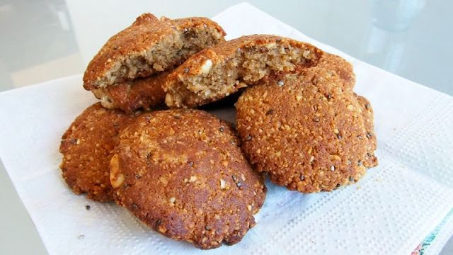 Oříškové sušenky úplně bez mouky!!!