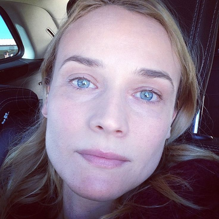 Diane Krueger flaunts her young, fresh and make-up free face! How gorgeous does the star look?! | toofab.com