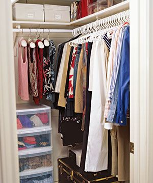 Not So Messy Closet After